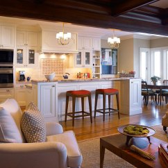 Living Room And Kitchen Divider Design Dark Wood Furniture Sets Open Ideas Ideas2