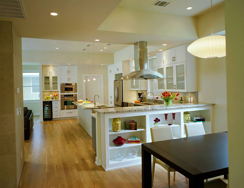 Open Kitchen And Living Room Design Ideas Part 94