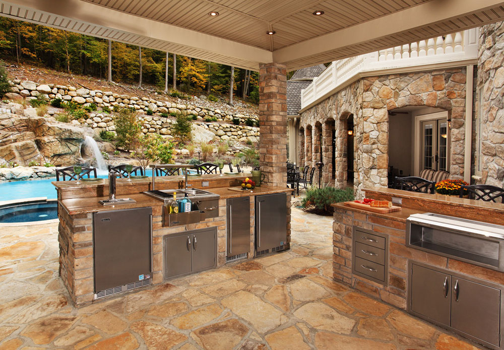 backyard kitchen designs booth designing the best outdoor and tips for