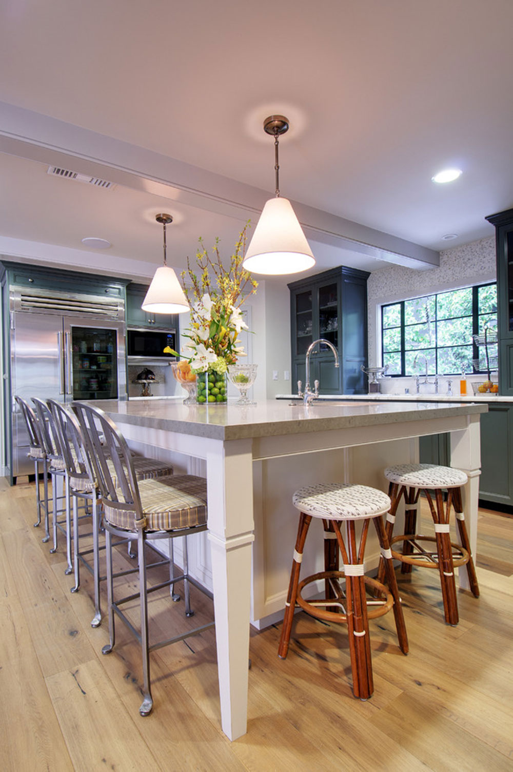 kitchen island designs with seating faucets for sale modern 7