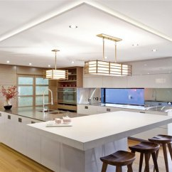 Kitchen Island Designs With Seating Aid Mixer Cream Modern 9