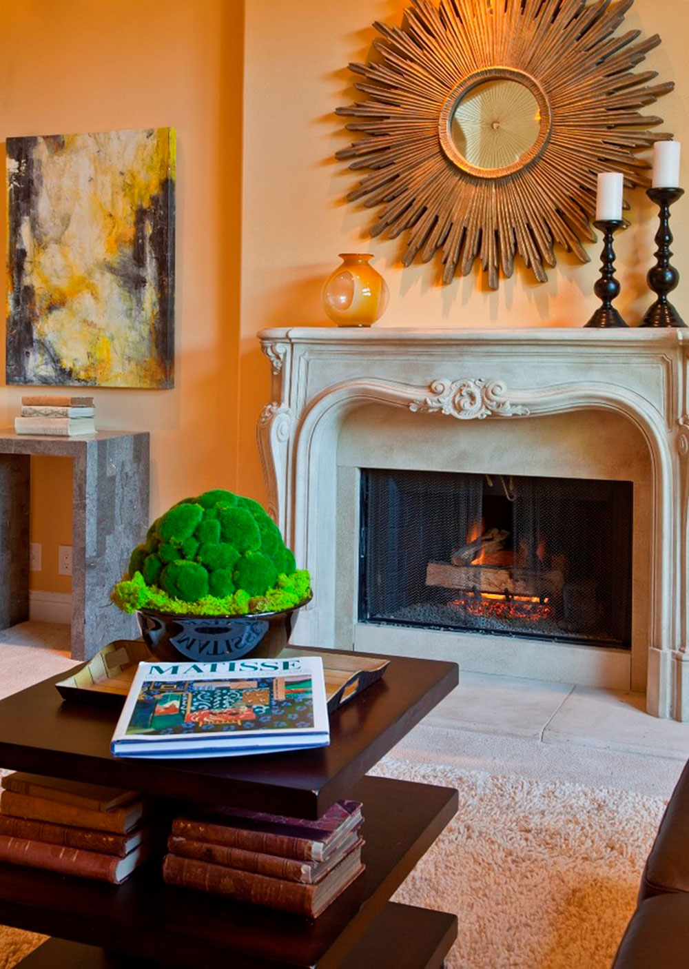 Decorating Your Fireplace Mantel Home Designs Ideas Fireplaces