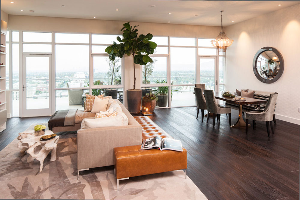 living rooms with dark wood floors rug for room tips and ideas ideas12