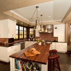 Brick Backsplash In Kitchen Refacing Cost Modern Ideas Ideas5