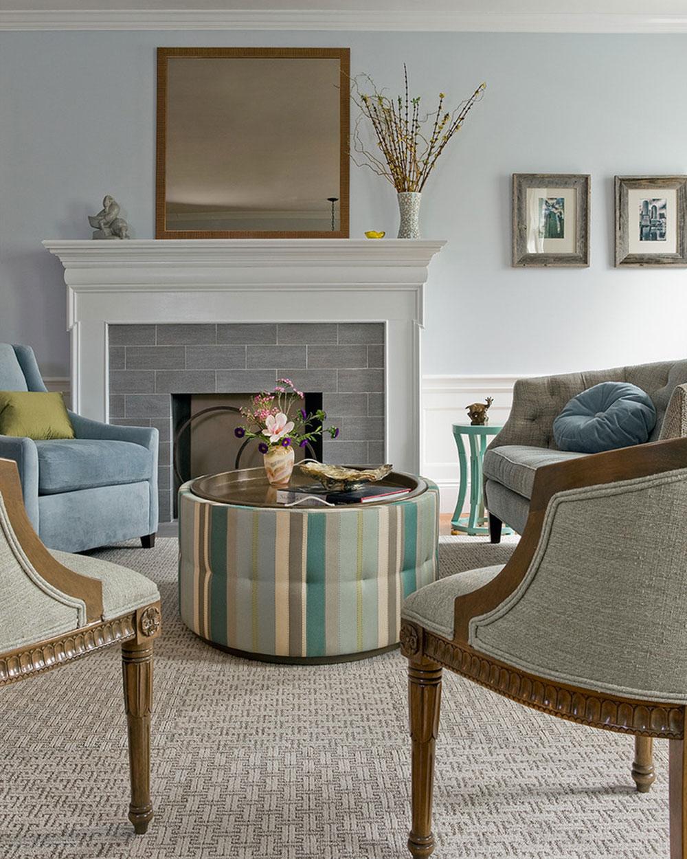 modern fireplace tile ideas