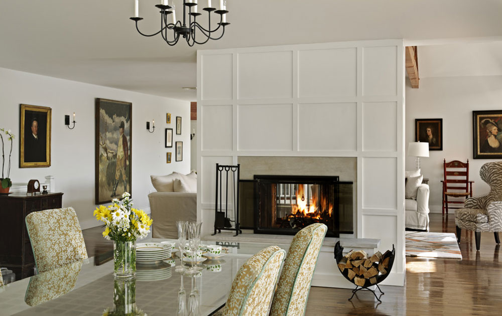 how to decorate a living room with fireplace chair ideas for double sided designs your efficiency and attractiveness fireplace11