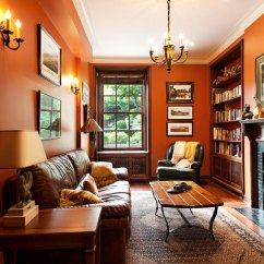 Brown And Orange Living Room Decor Ideas Uk Examples Of What Color Goes With 22 House Interiors Orange1