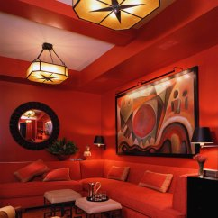 Brown And Orange Living Room Elegant Sofas Examples Of What Color Goes With 22 House Interiors Orange14