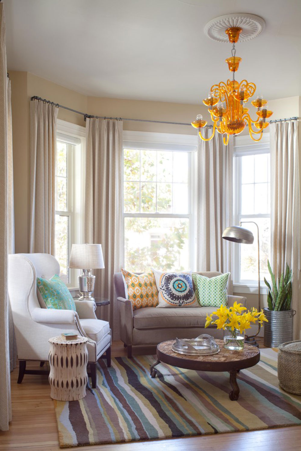 bay window decor to try in your home