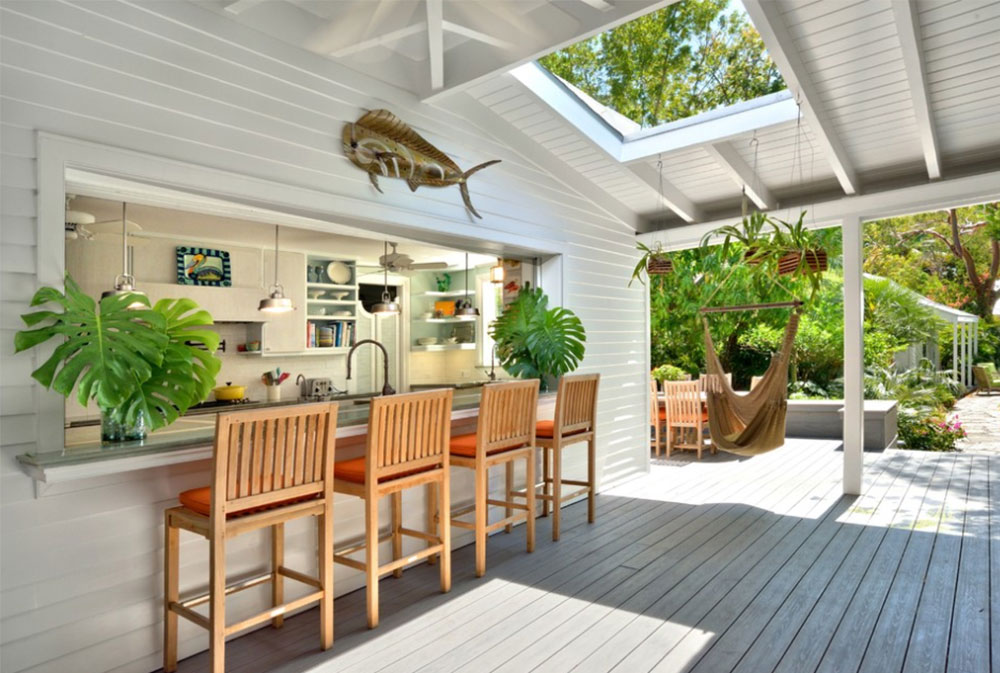 summer kitchen ideas carts on wheels design 50 pictures key west residence by bender associates architects