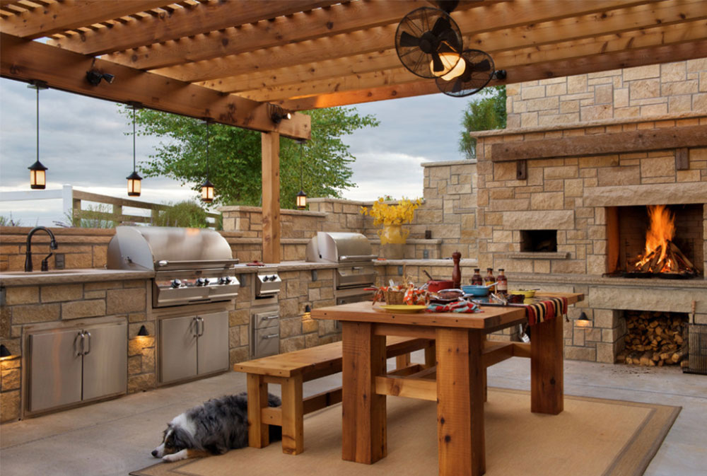 summer kitchen ideas aide blender design 50 pictures steheny patio by maverick landscaping
