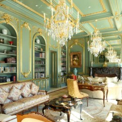 Green Living Room Walls Most Beautiful Decor Ideas Chairs Paint Beverly Hills Traditional Style Mansion By Mi Design