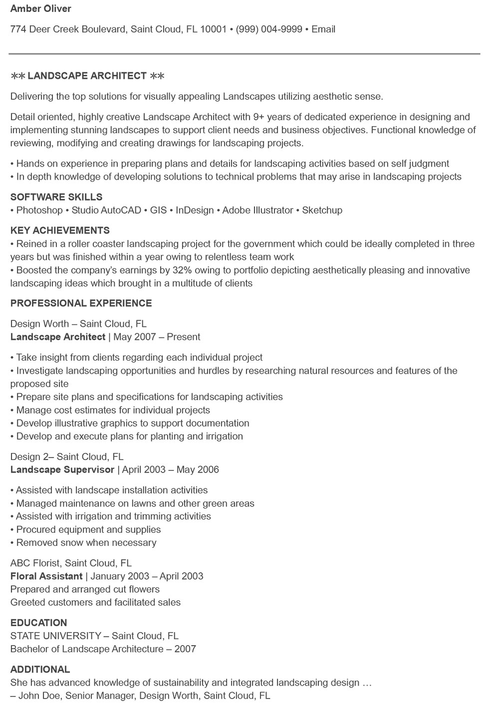 The Architecture Resume That Gets You Hired Templates Included