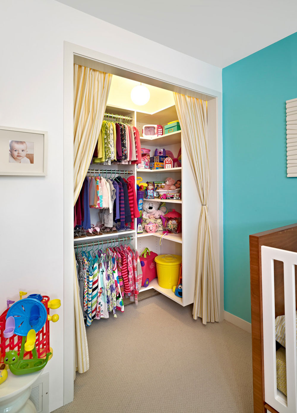 how to cover a closet without doors