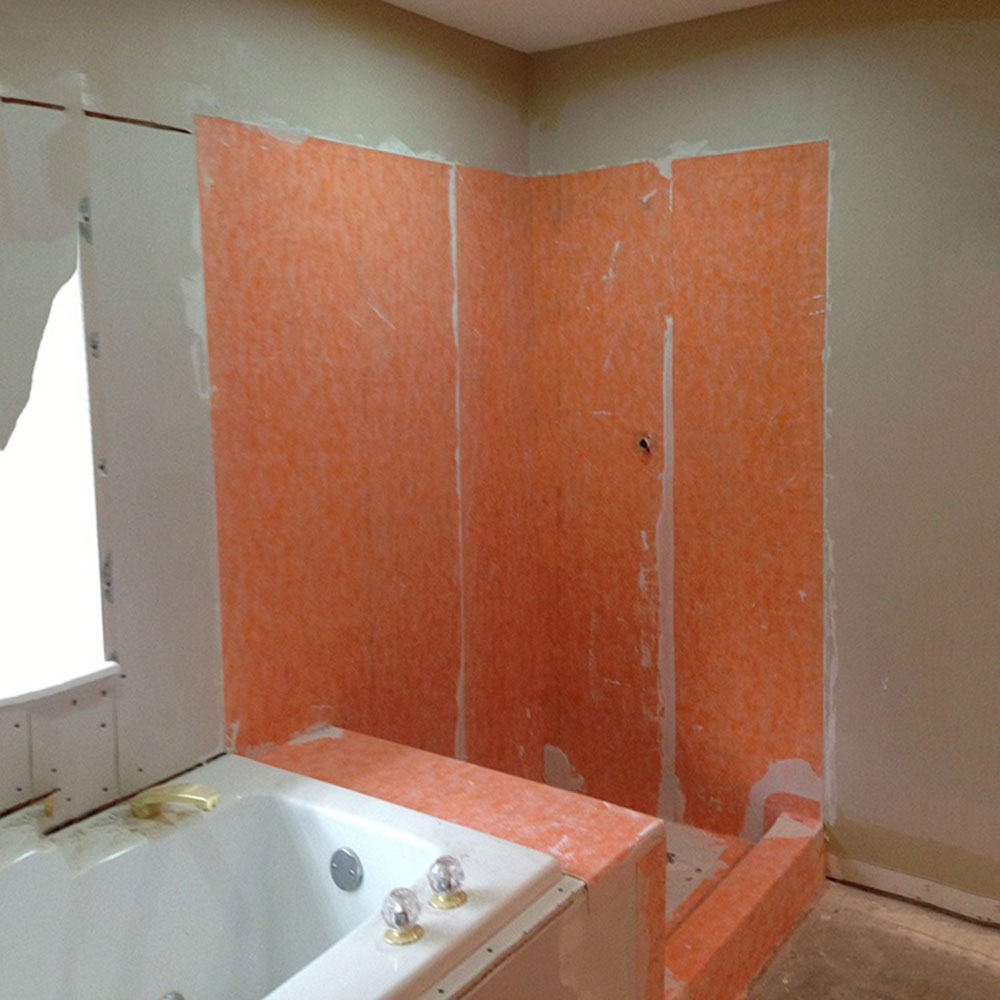 how to prepare shower walls for tile