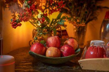 őszi csendélet alma