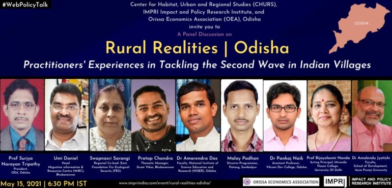 Rural Realities   Odisha Practitioners' Experiences in Tackling the Second Wave in Indian Villages