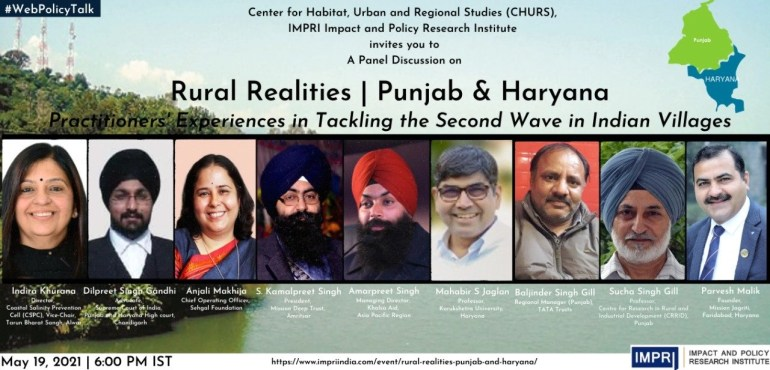 Rural Realities | Punjab and Haryana Practitioners' Experiences in Tackling the Second Wave in Indian Villages