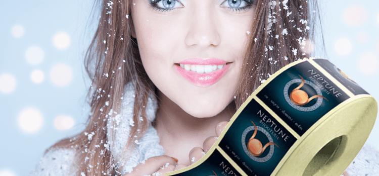 New : Les étiquettes et autocollants de congélation / froid / neige / glace