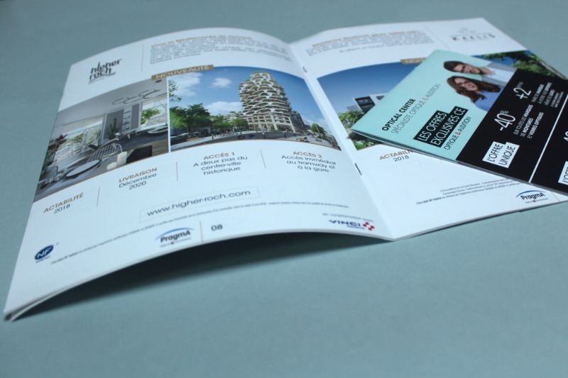 brochure metal narbonne impression
