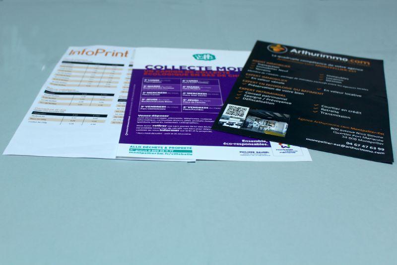 flyer pellicule narbonne imprimeur narbonne