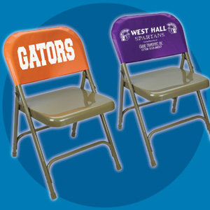 Screen printed padded chair covers  Promotional Product