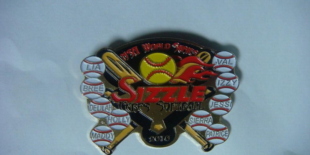 Custom Softball and Baseball Trading Pins  Promotional