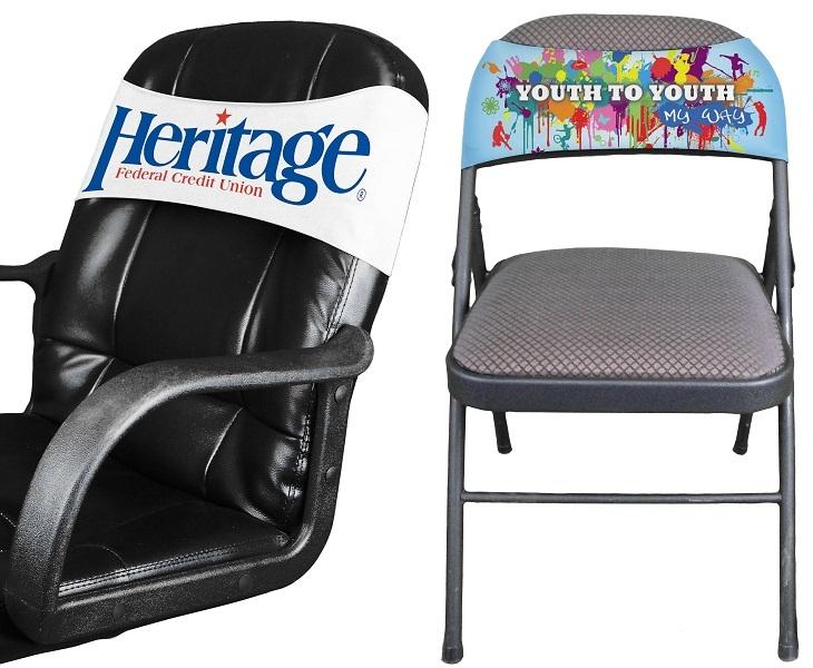 spandex chair covers for folding chairs high back mesh stretchable - item #cc236 & cc234 imprintitems.com custom printed ...
