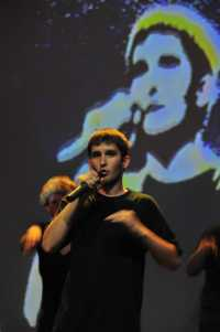Impro-Cup-Berlin: Song Contest, Kevin Blueboy