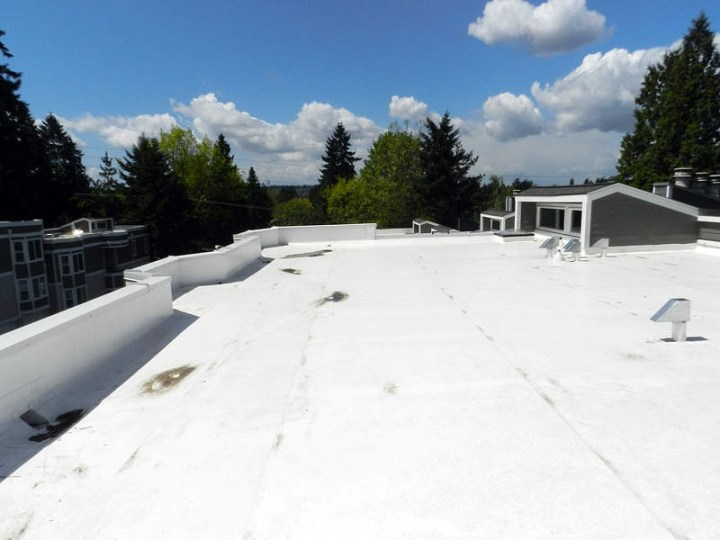 Roof After Repairs