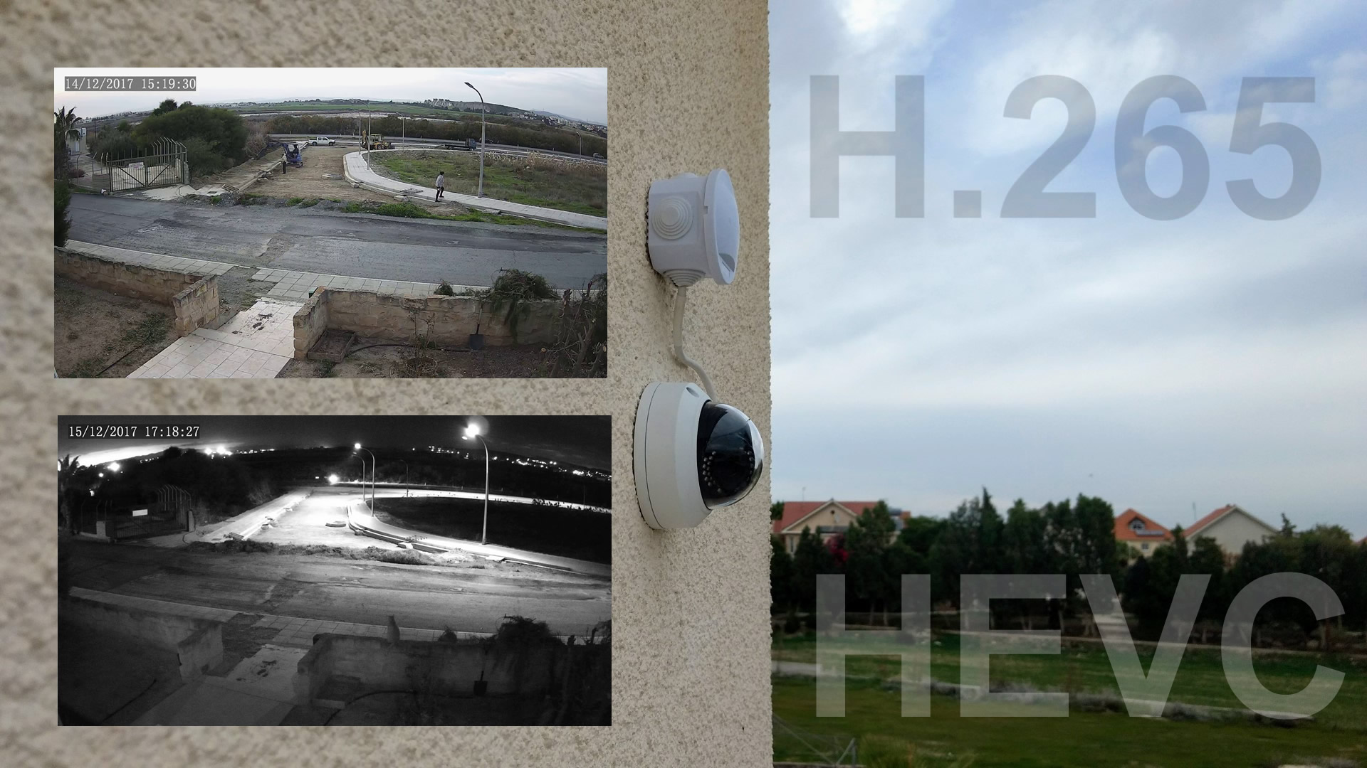 Testing a WGCC 1440p PoE outdoor IP camera with H 265 Compression