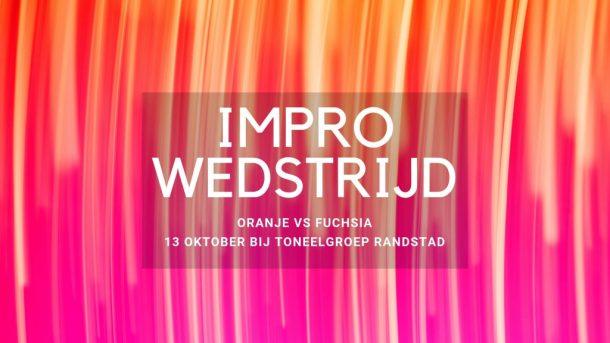 Improfessioneel Impro-wedstrijd Oranje vs Fuchsia