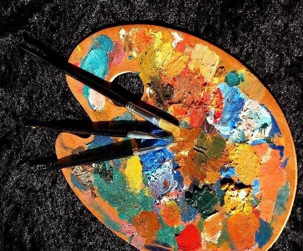"""Life is a great big canvas and you should throw all the paint you can on it""."