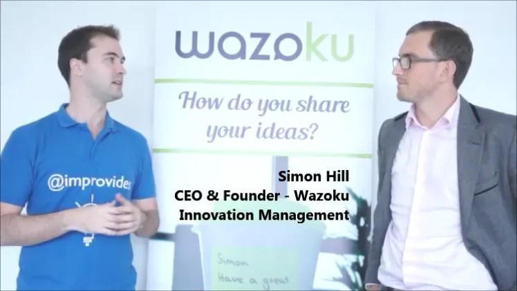 simon hill wazoku interview improvides