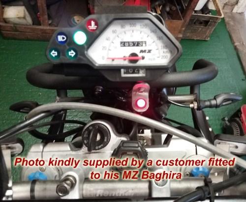 small resolution of mz baghira alternator battery warning light