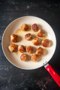 Ground Chicken Meatballs Recipe