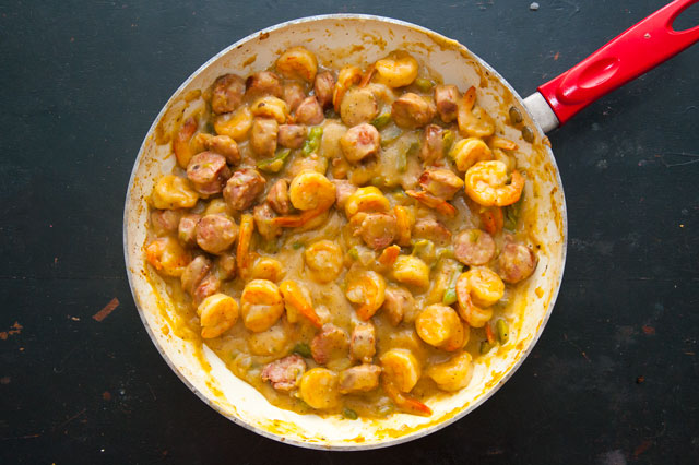 Quick Easy Southern Style Shrimp And Cheese Grits Recipe