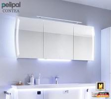 Pelipal Contea Spiegelschrank 160 cm mit LED Türen und ...