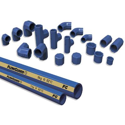 Tubería FlowGuard azul