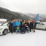 women.ice.experience 2014 mit Dajana Eder und Reini Sampl
