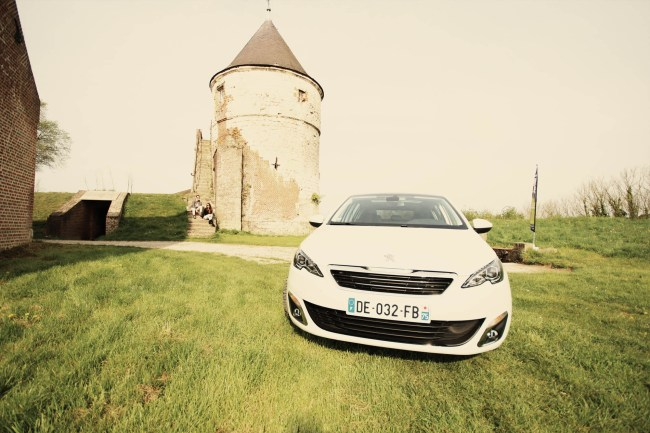 Peugeot 308SW test drive at le Touquet (Paris-Plage) April 2014
