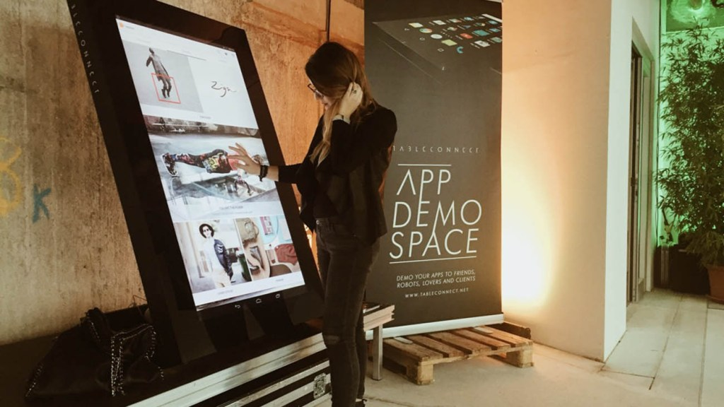 tableconnect app demo space