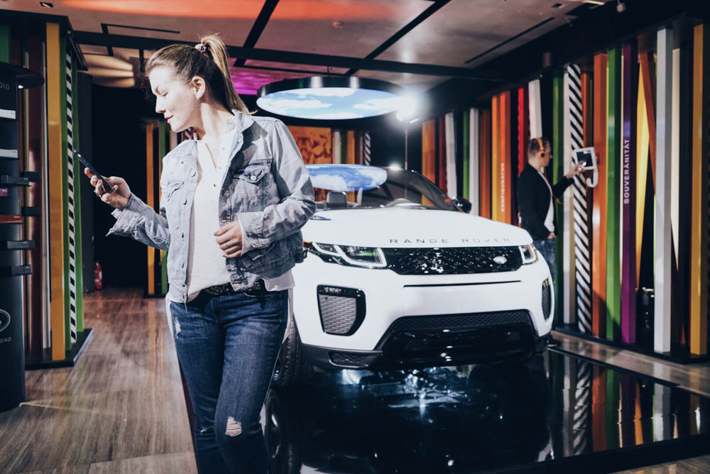 Range Rover Evoque Cabriolet _ Pop Up Store _ Hamburg