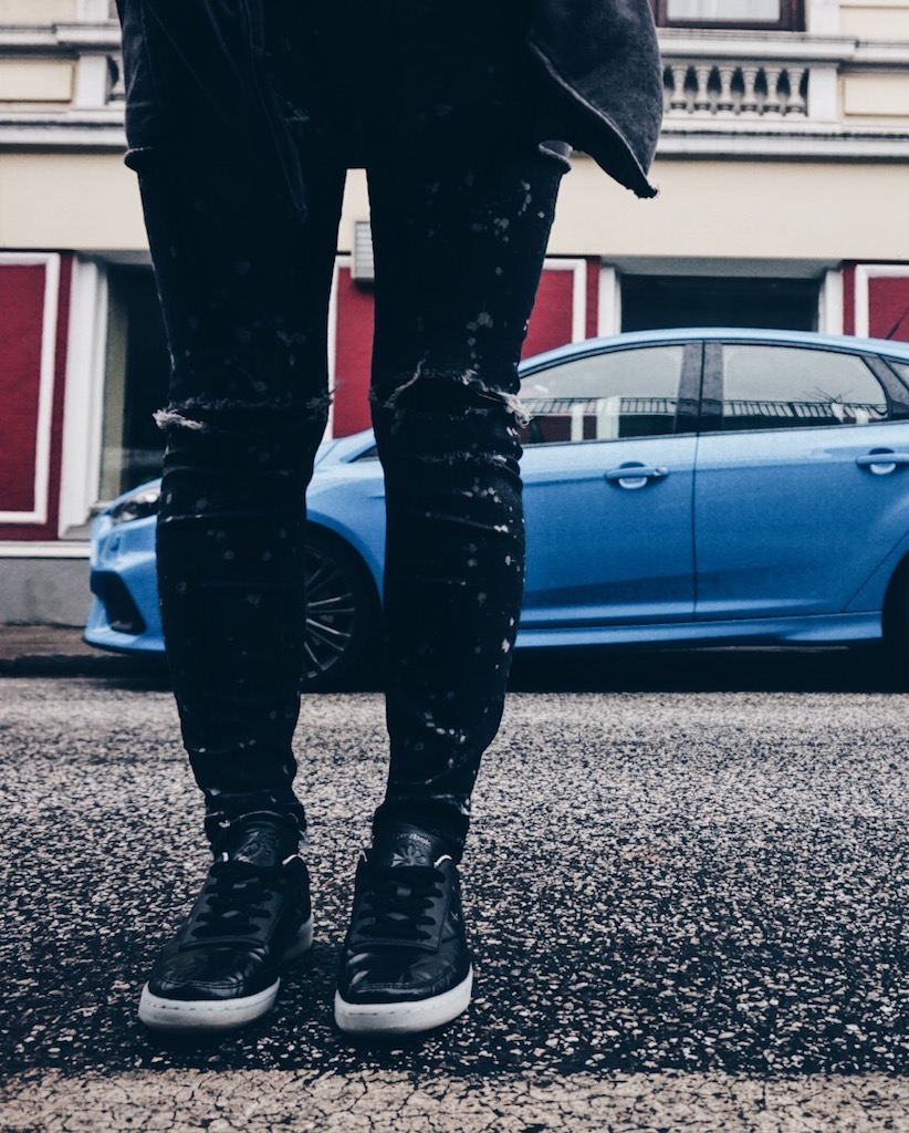 Ford Focus RS : Reebok Classics