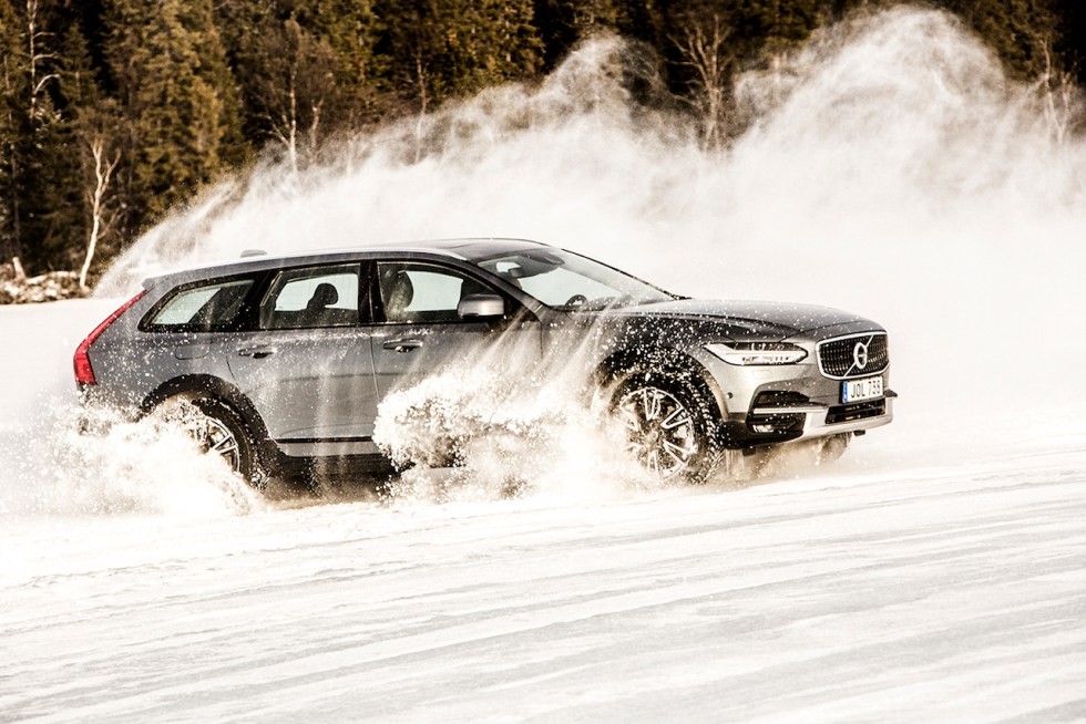 Volvo V90 Cross Country Testfahrt : Are Schweden