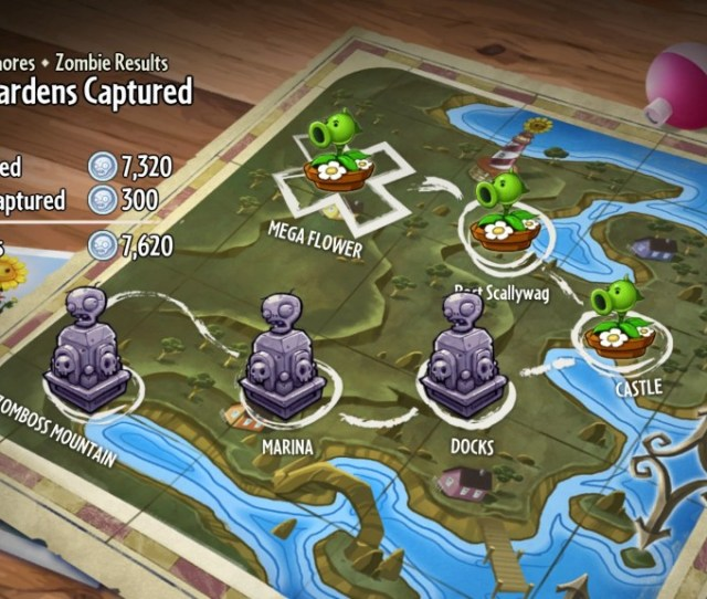 Plants Vs Zombies Garden Warfare_overhead