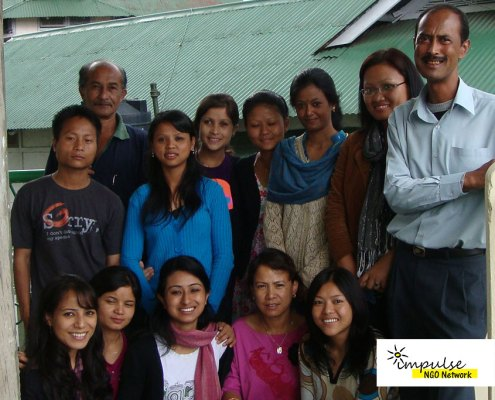 Volunteers and Supporters at Impulse NGO Network
