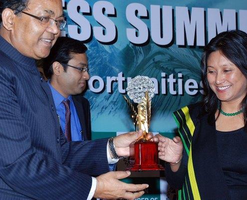 Hasina Kharbhih - ICC North East Excellence Award 2012