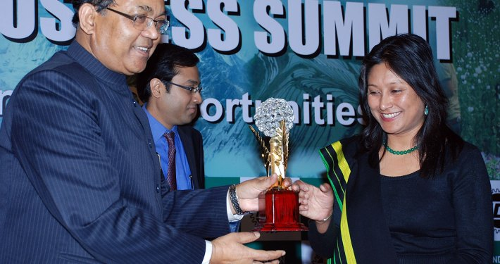 Hasina Kharbhih - ICC North East Excellence Award 2012