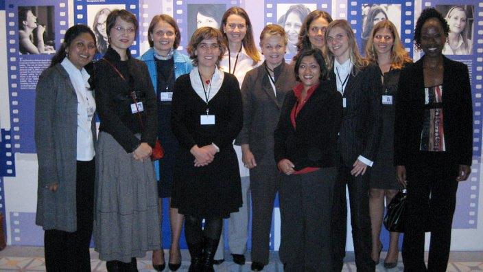 Hasina Kharbhih - Rising Talents Womens Forum France 2007